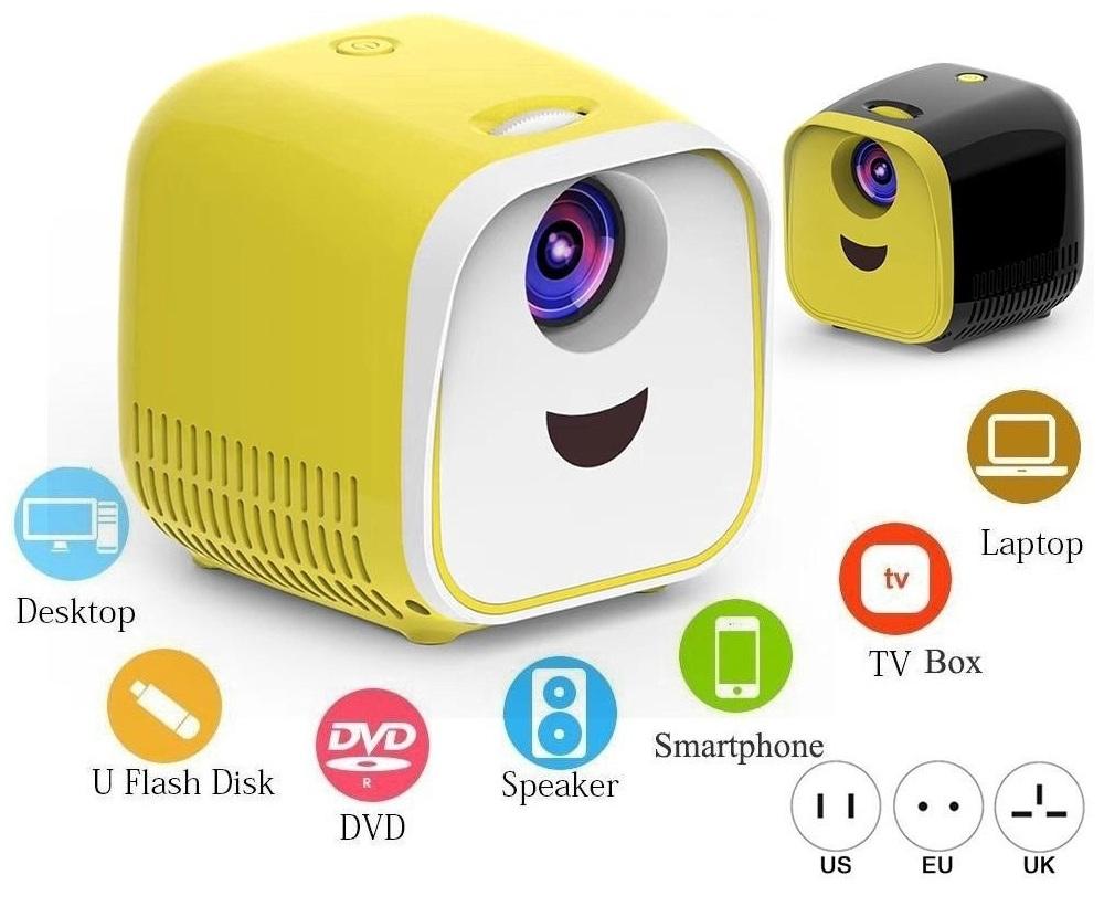 L1 Mini Projector 1080P Full HD LED Movie Projector