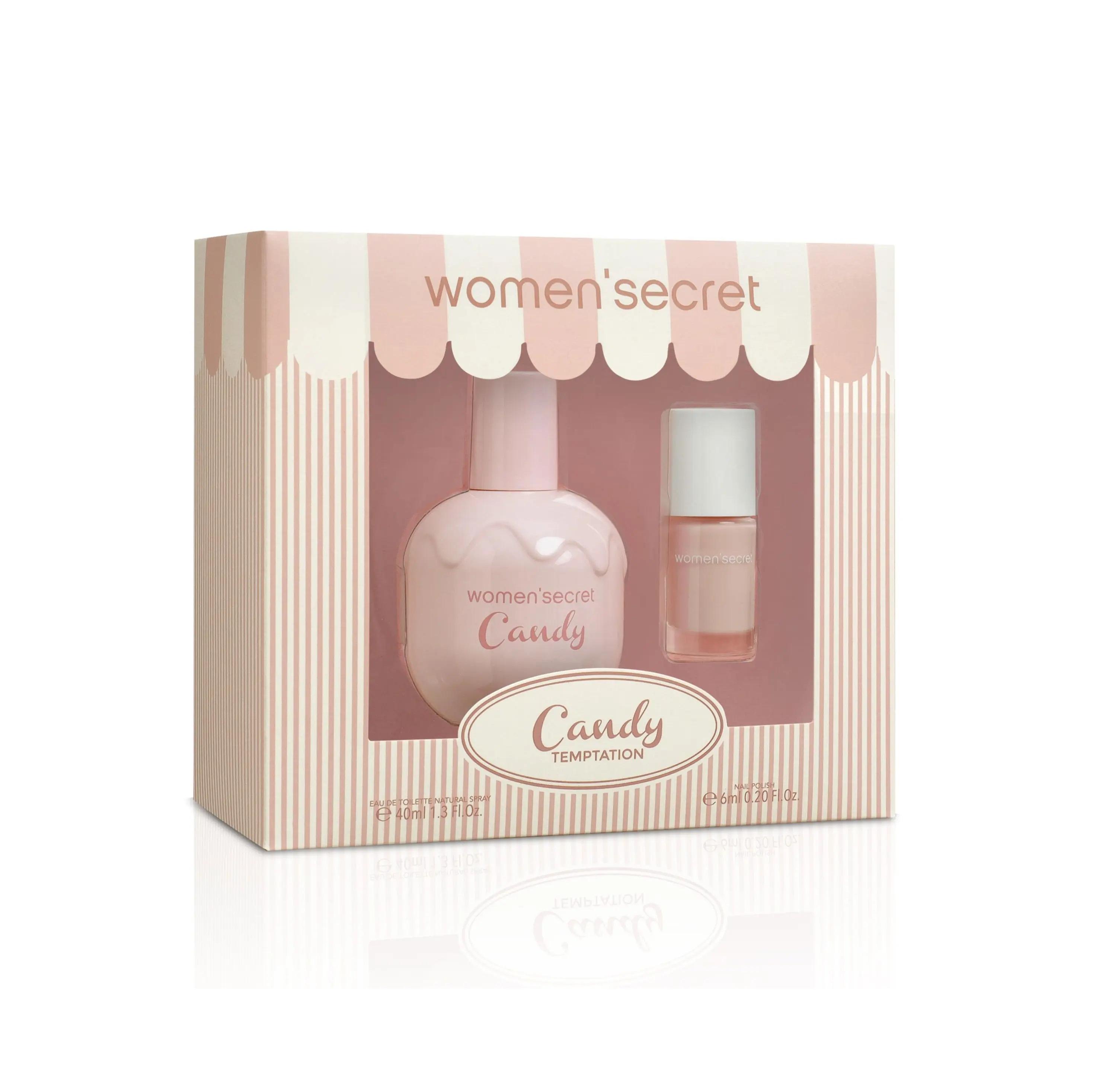 Women Secret Candy Temptation Set EDT 40 ml + Nail Polish 6ml