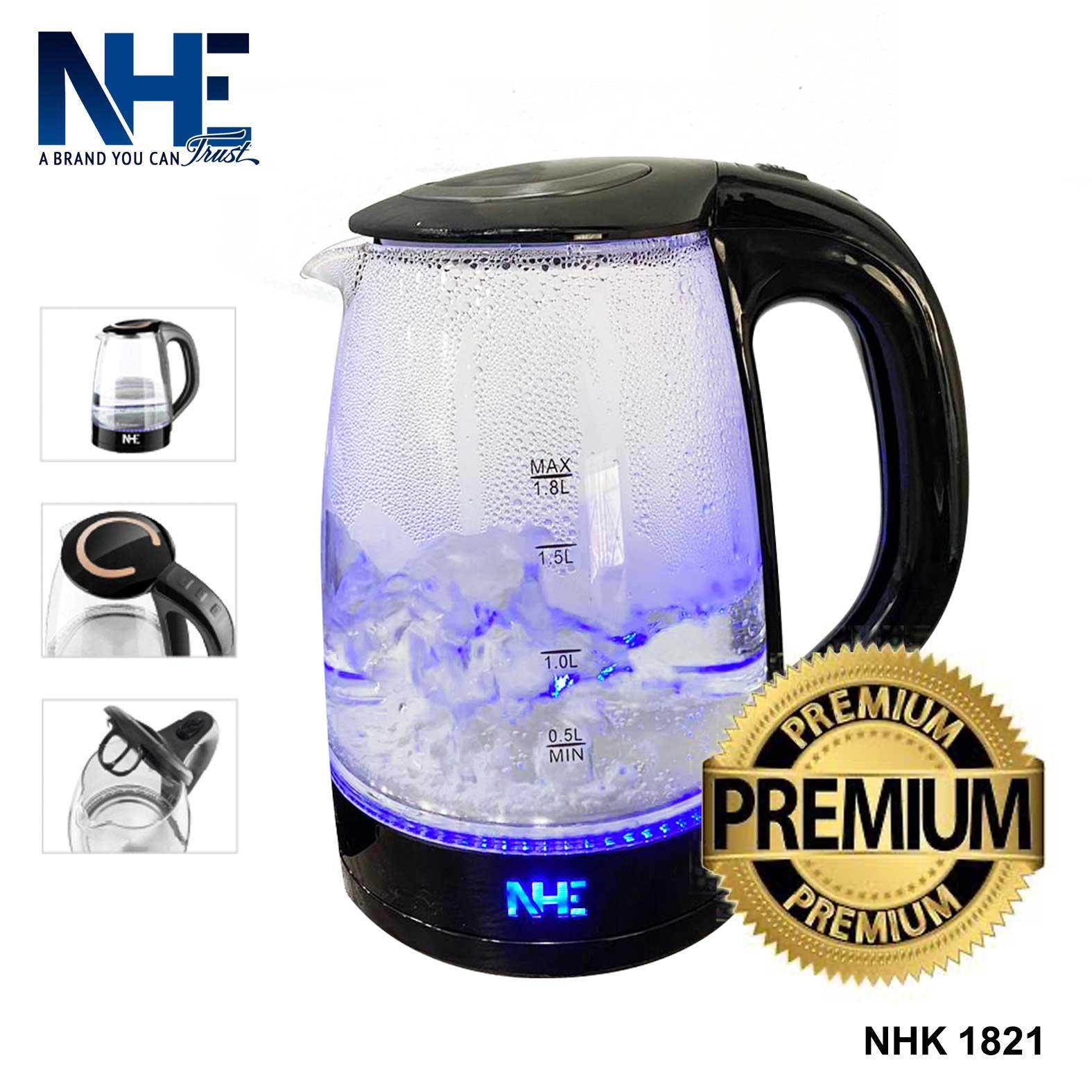 NHE Glass Kettle 1.8 L - NHK 1821